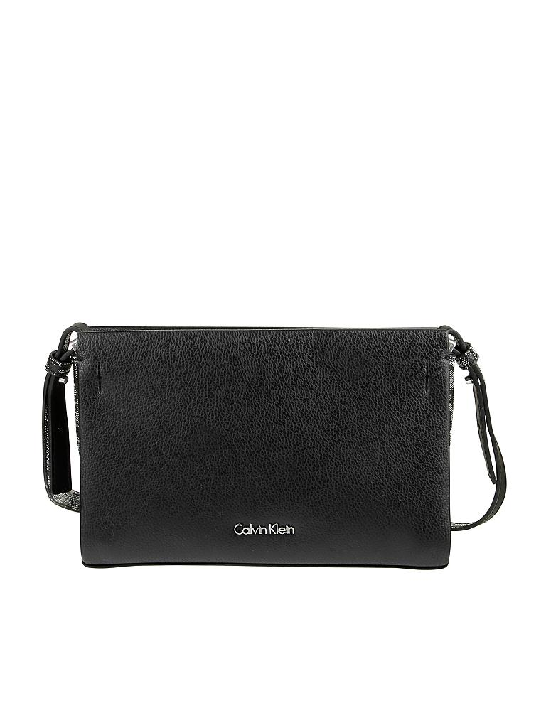 calvin klein tasche crossbody clutch marissa grau. Black Bedroom Furniture Sets. Home Design Ideas