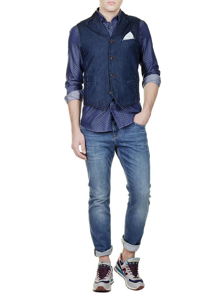 camel active jeans gilet blau 50. Black Bedroom Furniture Sets. Home Design Ideas