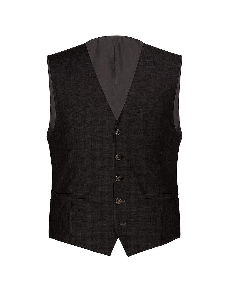 CARL GROSS | Gilet Modern Fit Stan | schwarz