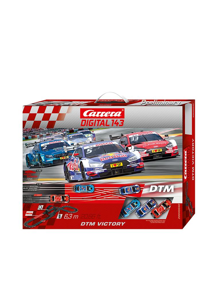 CARRERA | Digital 143 - Rennbahn DTM Victory | transparent