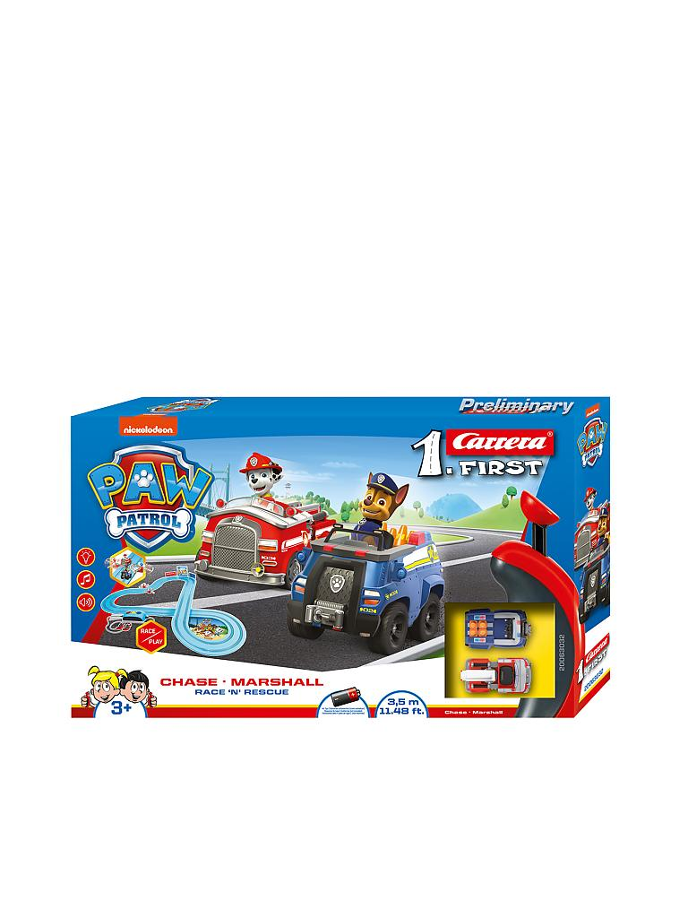 CARRERA | First - Rennbahn PAW PATROL - Race 'N' Rescue | transparent