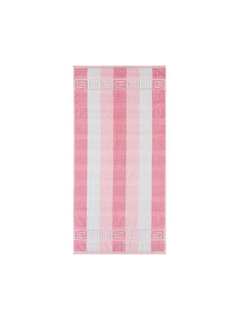 caw handtuch noblesse 50 x 100 cm rosa. Black Bedroom Furniture Sets. Home Design Ideas