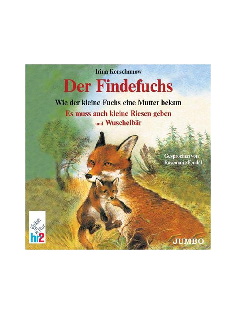 CD HÖRBUCH | Hörbuch - Der Findefuchs  | transparent