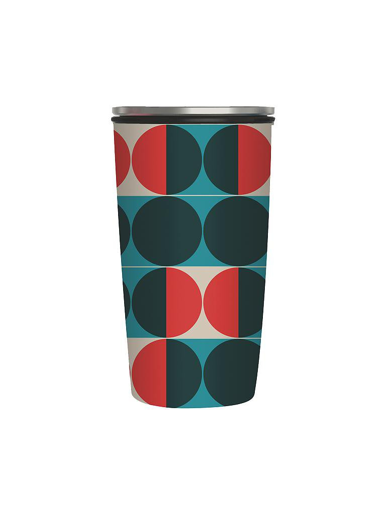 CHIC.MIC | Bamboo-Slide-Cup 400ml (Circles) | bunt