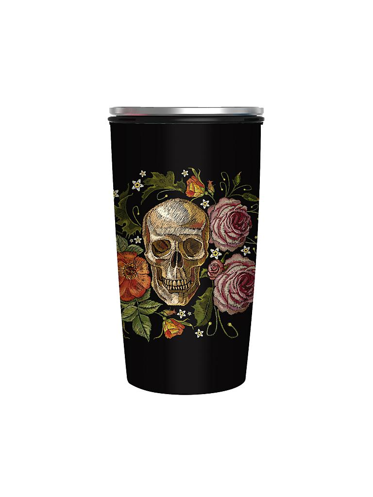 CHIC.MIC | Bamboo-Slide-Cup 400ml (Skull) | bunt