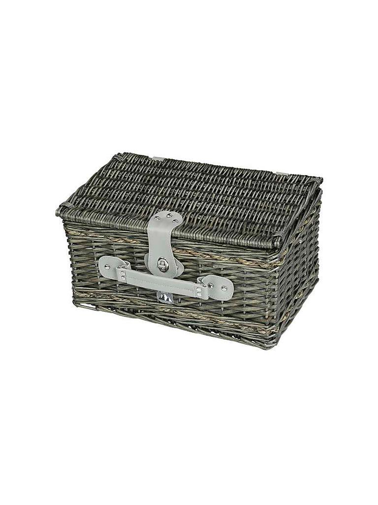cilio picknickkob bissone f r 2 personen grau. Black Bedroom Furniture Sets. Home Design Ideas