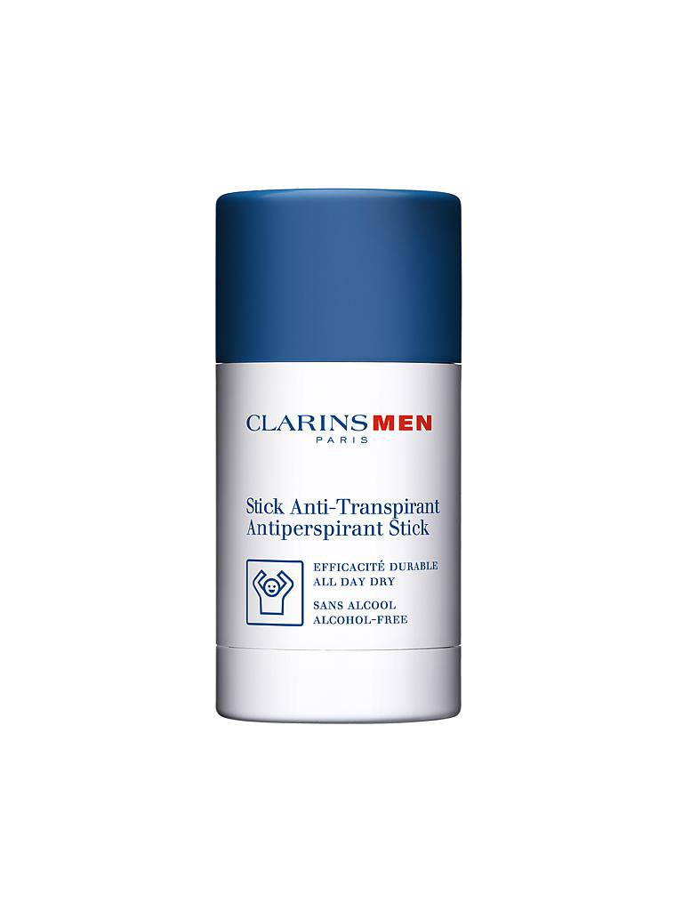 CLARINS | Men - Antiperspirant Déo Stick - Anti-Perspirant, ohne Alkohol 75g | transparent