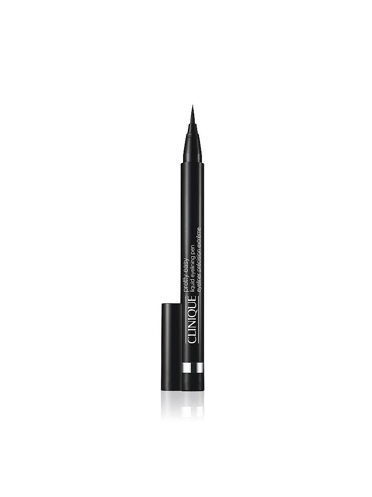 CLINIQUE | Augenkonturenstift - Pretty Easy Liquid Eyeliner Pen (01 Black) | schwarz