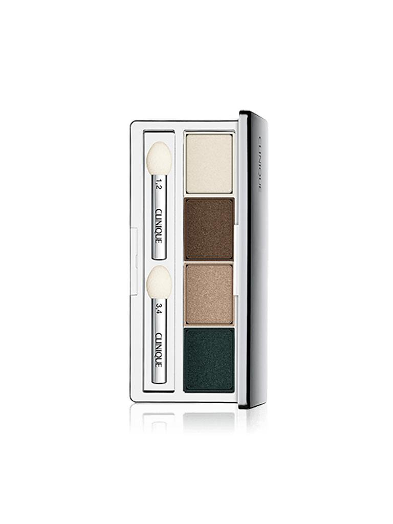 CLINIQUE | Lidschatten - Eyeshadow Quad (02 Jennas Essent) | braun