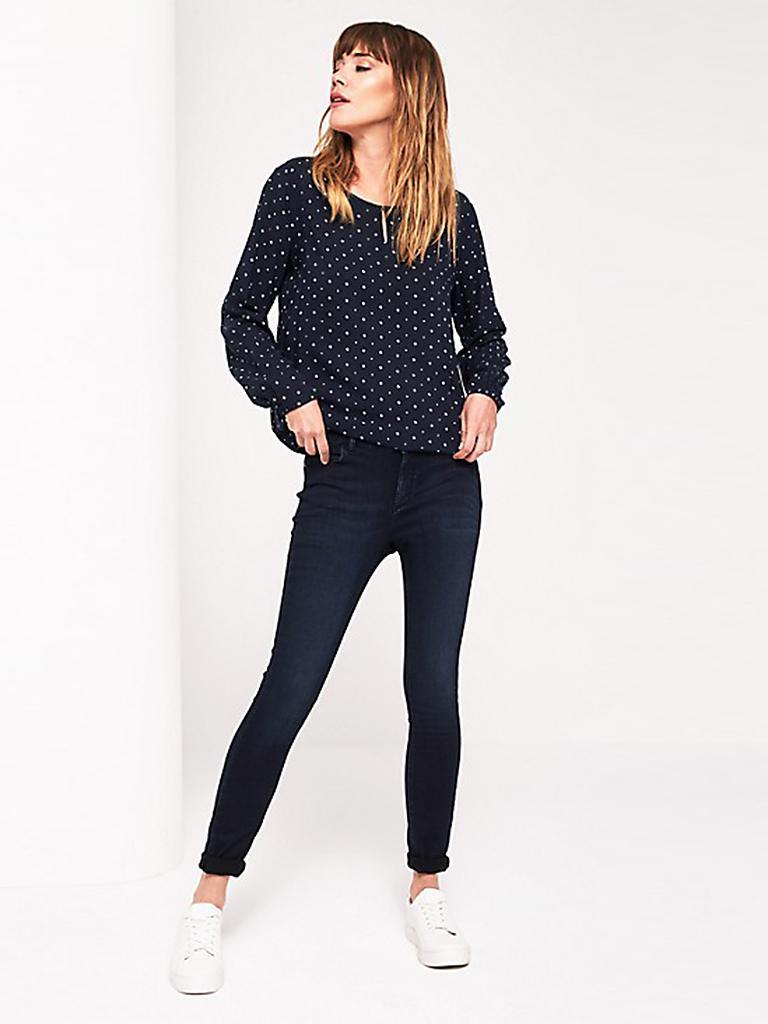 comma identity jeans skinny fit blau 34. Black Bedroom Furniture Sets. Home Design Ideas