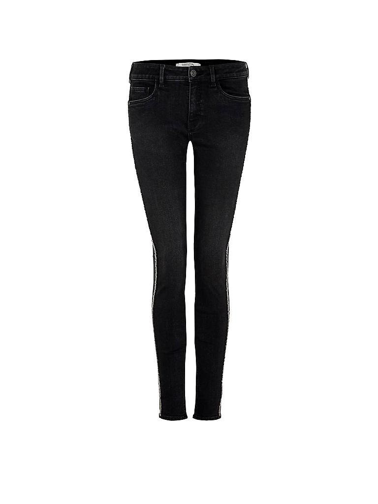 comma identity jeans skinny fit grau 36. Black Bedroom Furniture Sets. Home Design Ideas