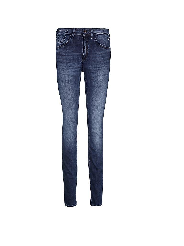 comma identity jeans skinny fit june blau 34 32. Black Bedroom Furniture Sets. Home Design Ideas