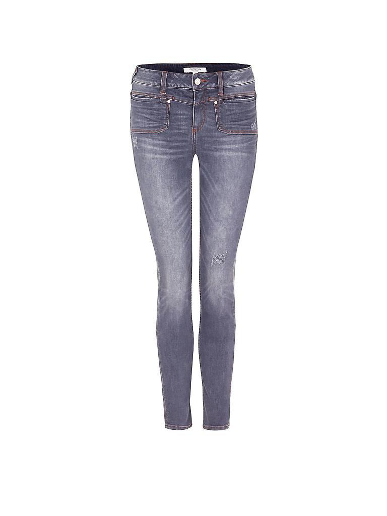 comma identity jeans slim fit grau 34. Black Bedroom Furniture Sets. Home Design Ideas
