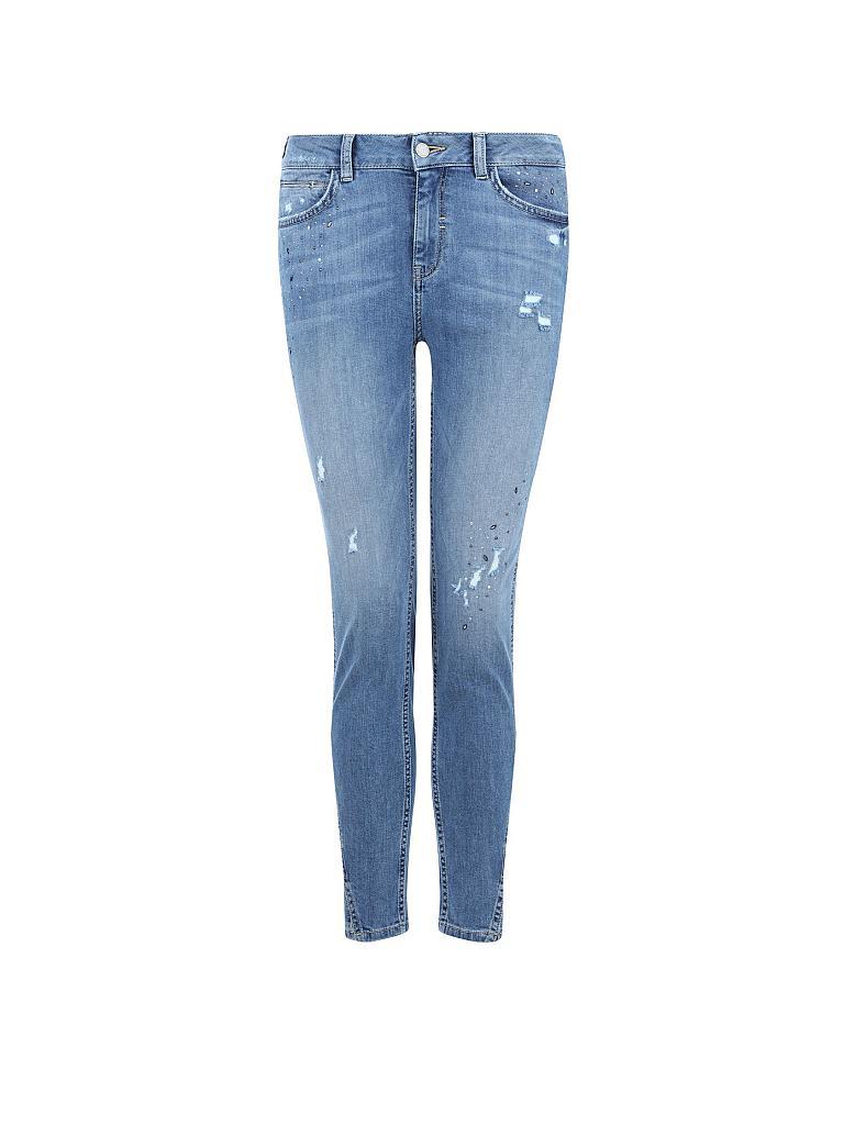 comma identity jeans slim fit blau 34. Black Bedroom Furniture Sets. Home Design Ideas
