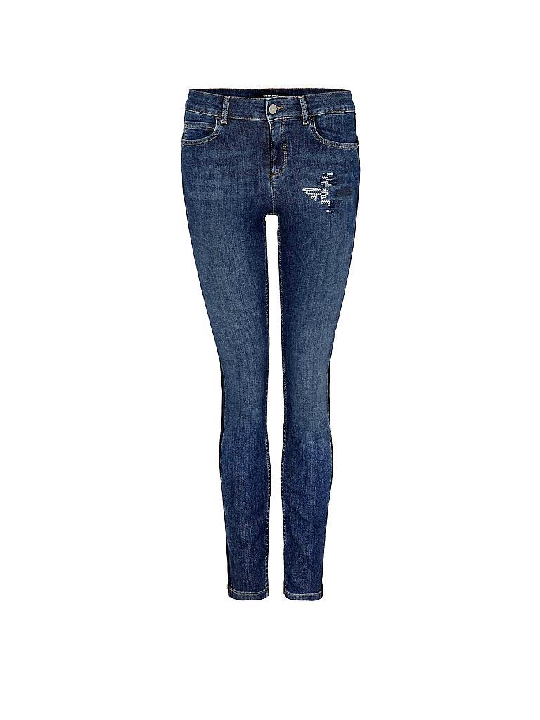 comma jeans slim fit blau 34. Black Bedroom Furniture Sets. Home Design Ideas