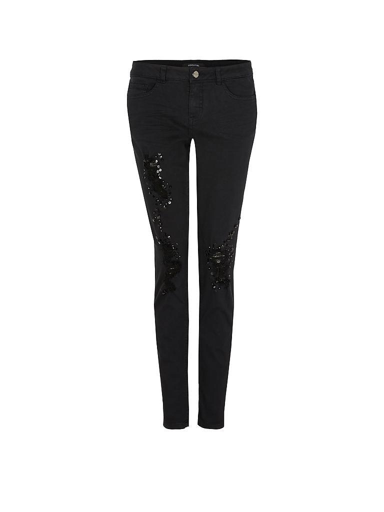 comma jeans slim fit schwarz 32. Black Bedroom Furniture Sets. Home Design Ideas