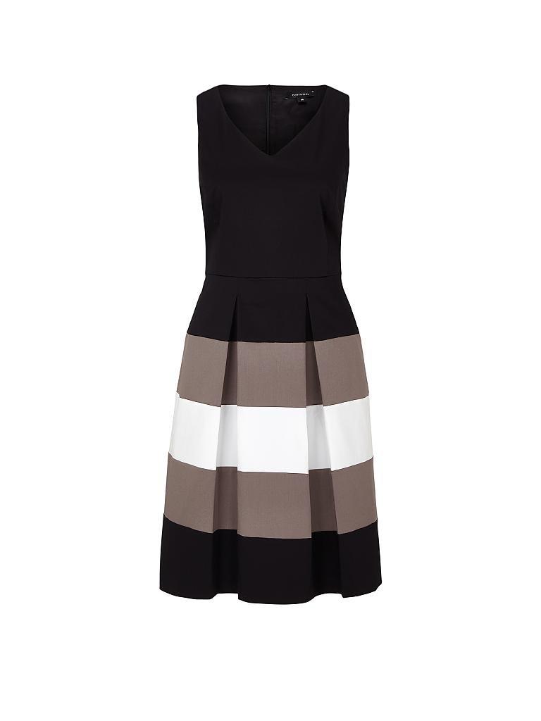 Kleid von comma schwarz