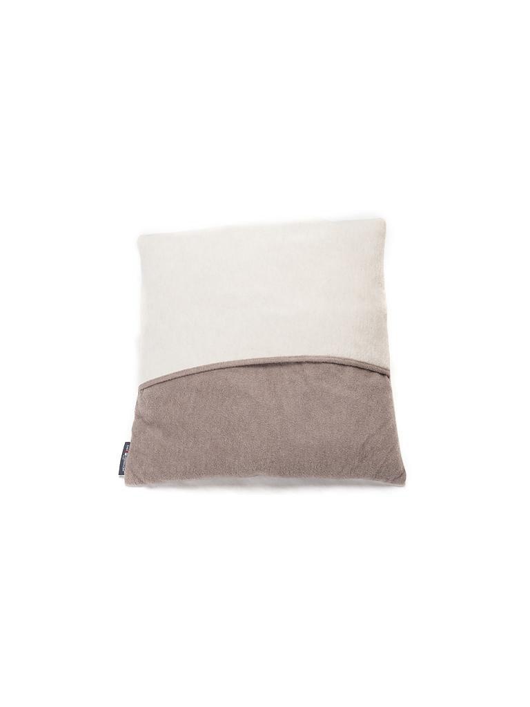 david fussenegger kissen velvet 50x50cm rohweiss beige. Black Bedroom Furniture Sets. Home Design Ideas