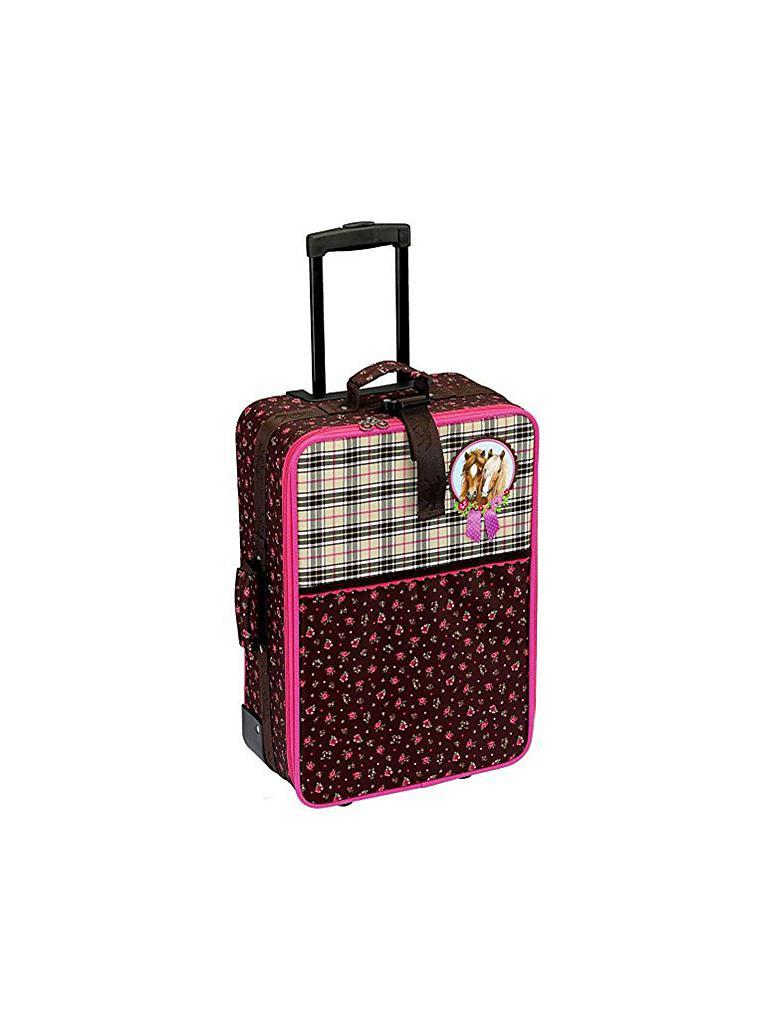 die spiegelburg pferdefreunde gro er trolley pink. Black Bedroom Furniture Sets. Home Design Ideas