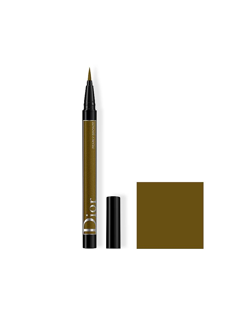 DIOR | Eyeliner - Diorshow On Stage Liner Waterproof (466 Pearly Bronze) | braun