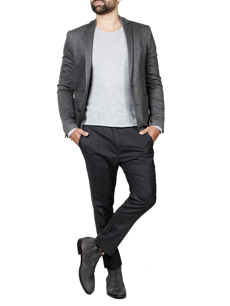 drykorn jersey sakko slim fit davis grau 52. Black Bedroom Furniture Sets. Home Design Ideas