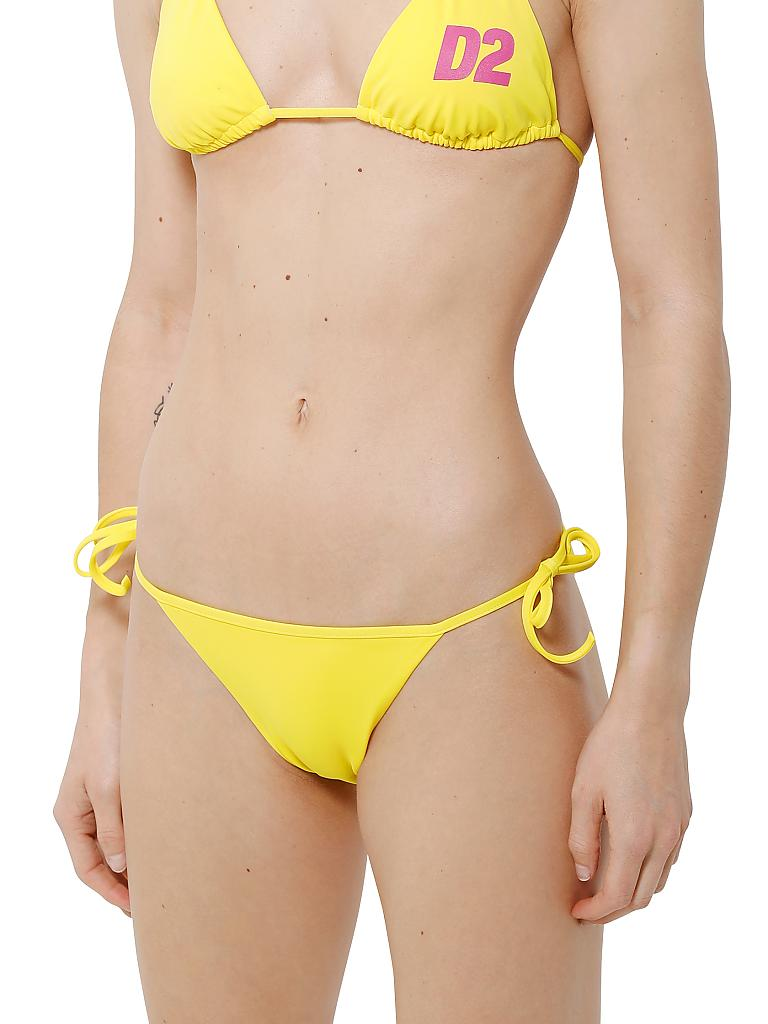 DSQUARED 2 | Triangel-Bikinislip | gelb
