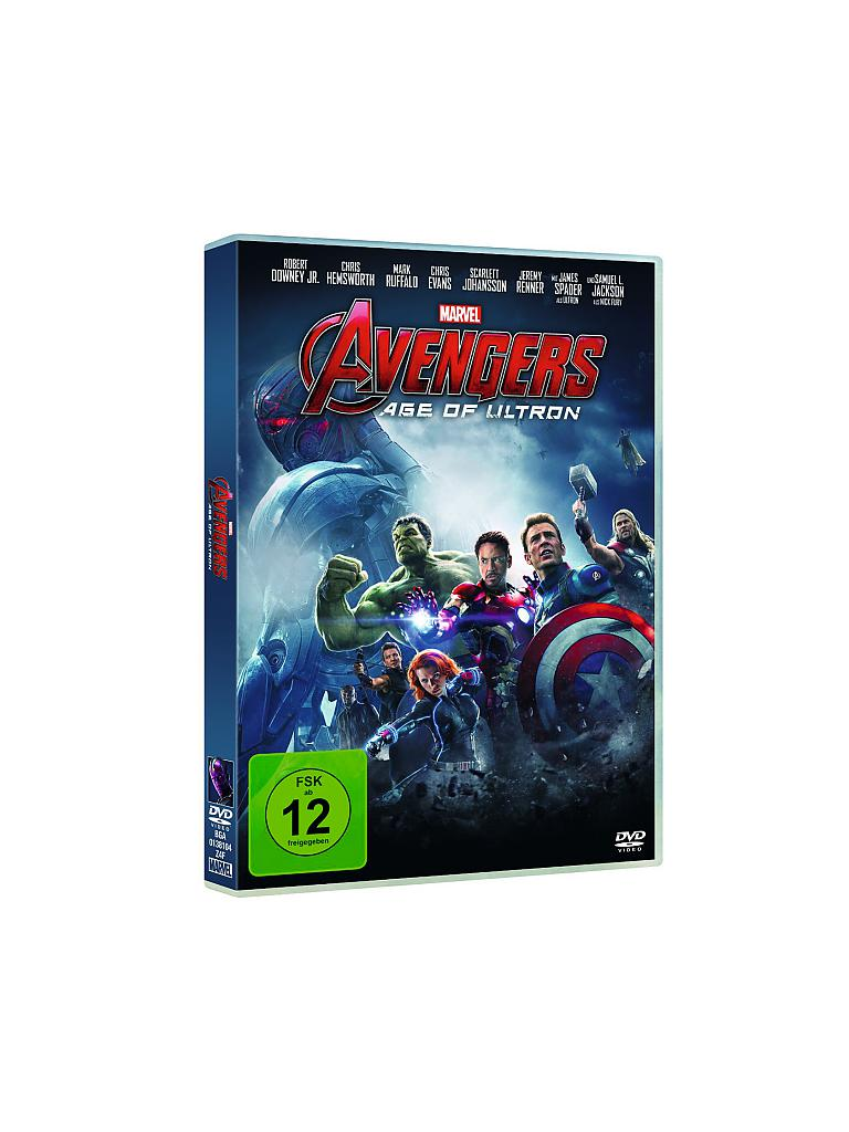 DVD | Film - Avengers - Age of Ultron | transparent