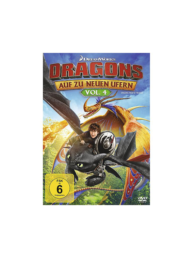DVD | Film - Dragons - Auf zu neuen Ufern Vol. 4  | transparent