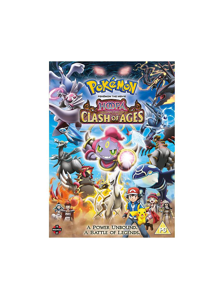 DVD | Film - Pokemon The Movie: Hoopa and the Clash of Ages | transparent