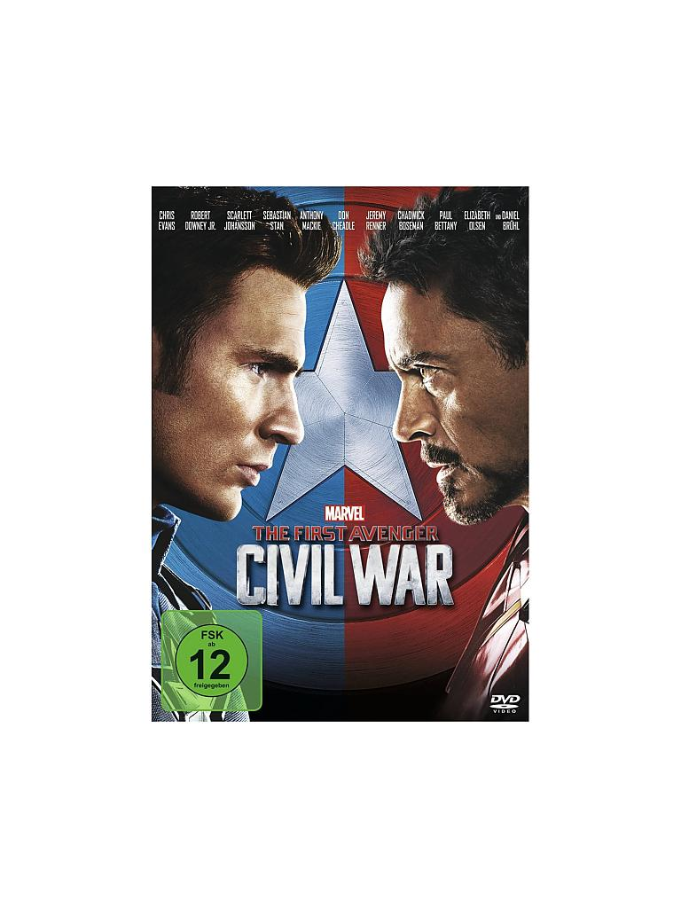 DVD | Film - The First Avenger - Civil War  | transparent