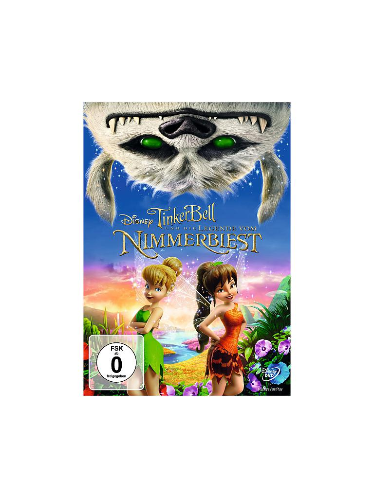 DVD | Film - Tinkerbell- Die Legende vom Nimmerbiest | transparent