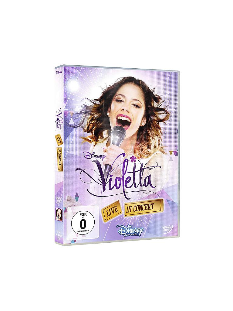 DVD | Violetta - Live in Concert (Standard Version) | transparent