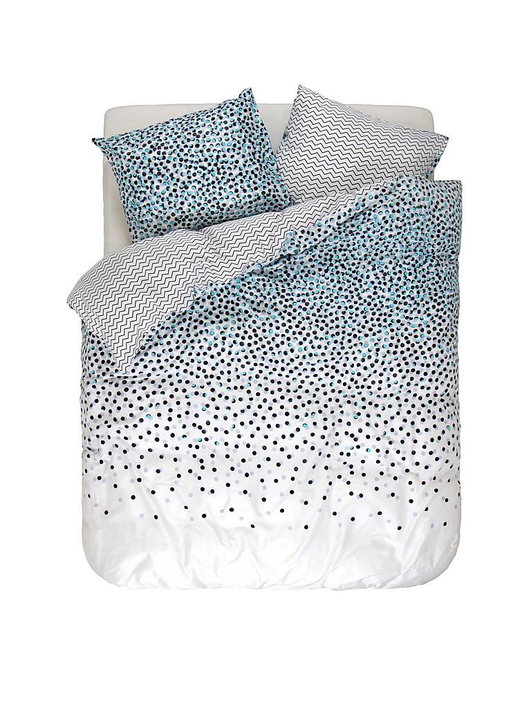 esprit satin bettw sche dila 70x90cm 140x200cm blau. Black Bedroom Furniture Sets. Home Design Ideas
