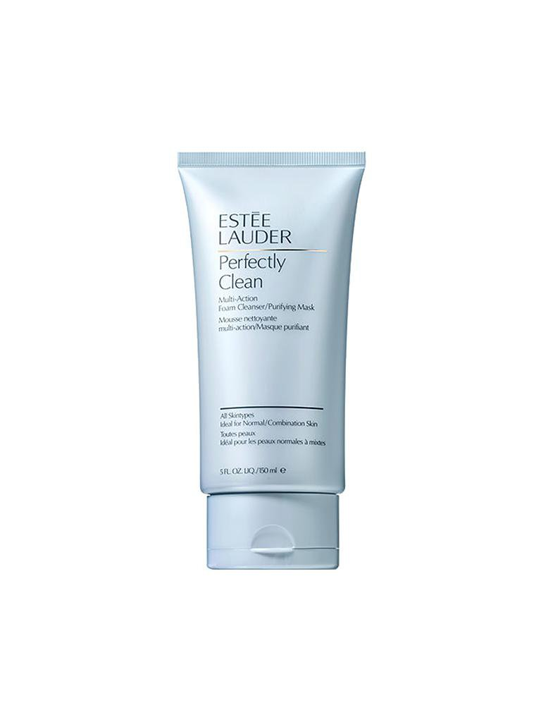 ESTÉE LAUDER | Perfectly Clean Multi-Action Foam Cleanser/Purifying Mask 150ml | transparent