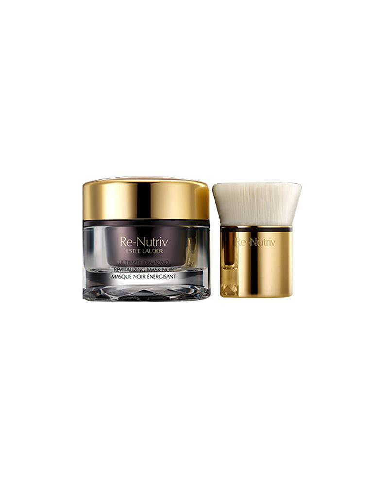 ESTÉE LAUDER | Re-Nutriv Special Care Ultimate Diamond Revitalizing Mask Noir 50ml | transparent