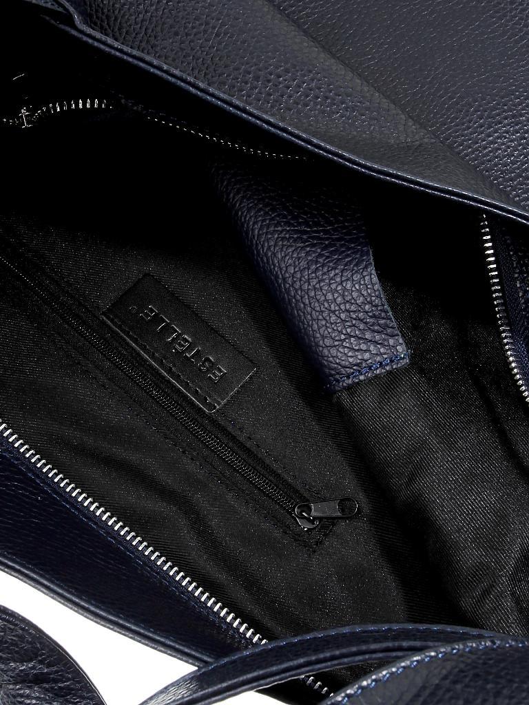 c6d19d0427fe0 ESTELLE Ledertasche - Shopper blau