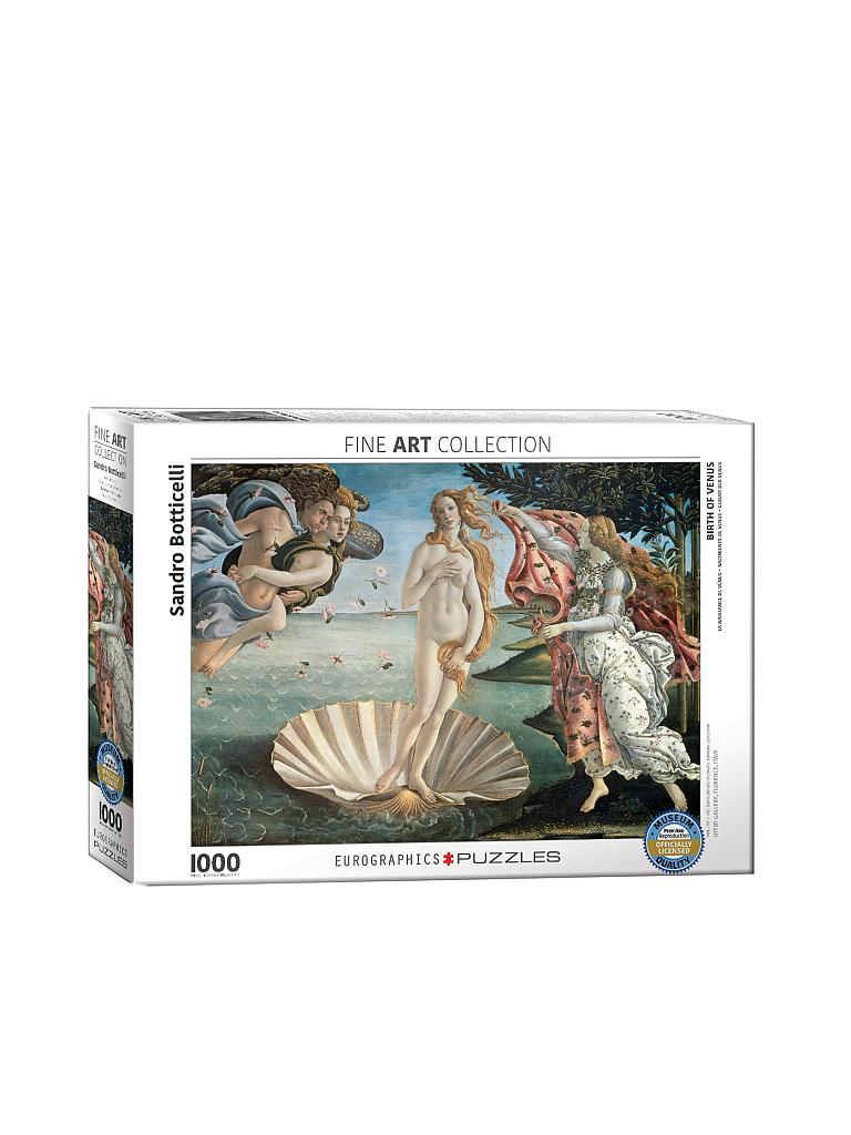 EUROGRAPHICS | Puzzle - Birth of Venus (1000 Teile) | bunt