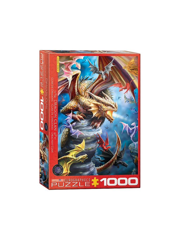 EUROGRAPHICS | Puzzle - Dragon Clan by Ann Stokes (1000 Teile) | bunt