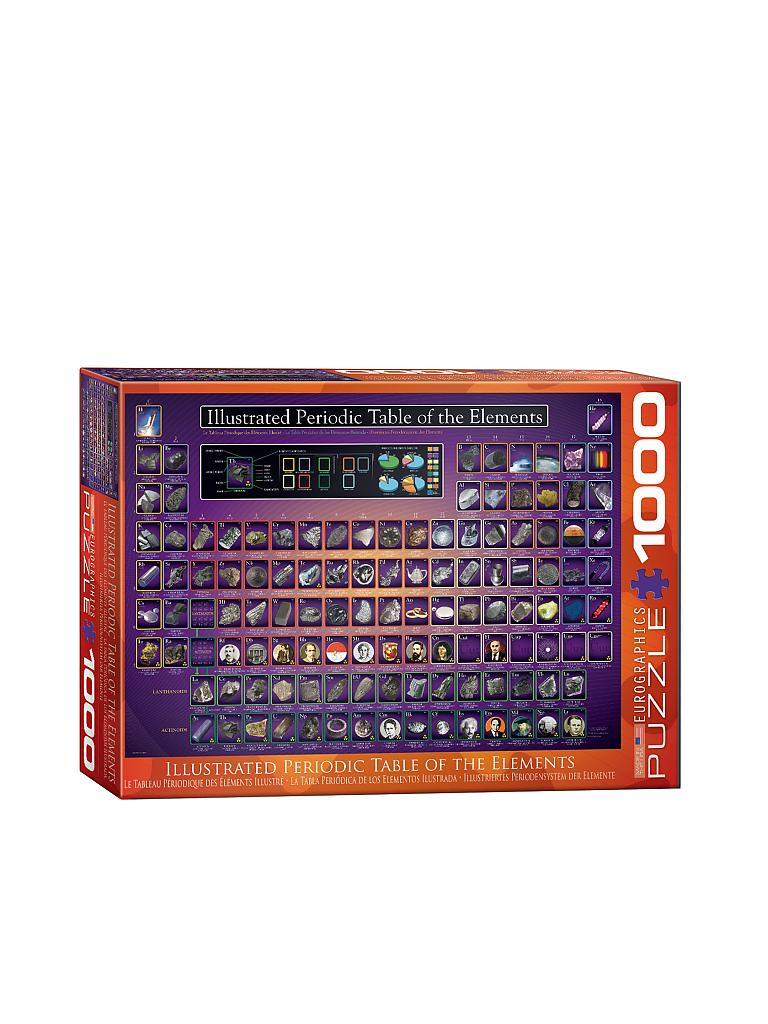 EUROGRAPHICS | Puzzle - Illustratrated Periodic Table (1000 Teile) | bunt