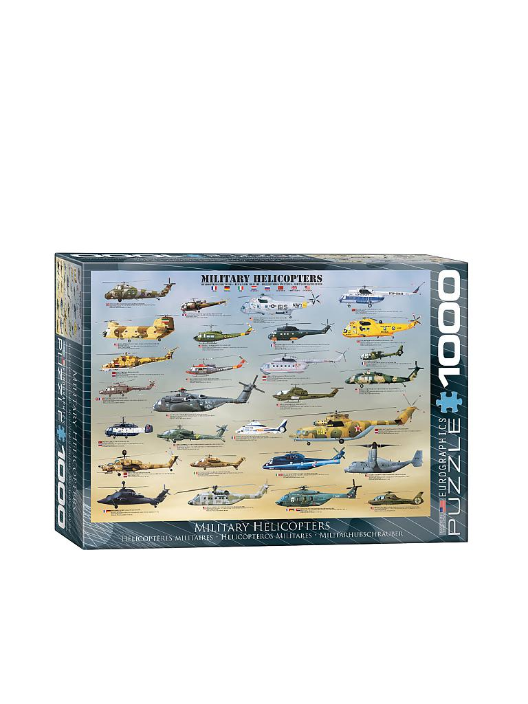 EUROGRAPHICS | Puzzle - Military Helicopters (1000 Teile) | bunt