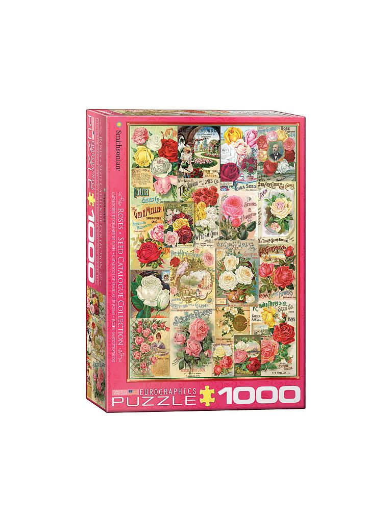 EUROGRAPHICS | Puzzle - Rose Seed Catalog Covers (1000 Teile) | bunt