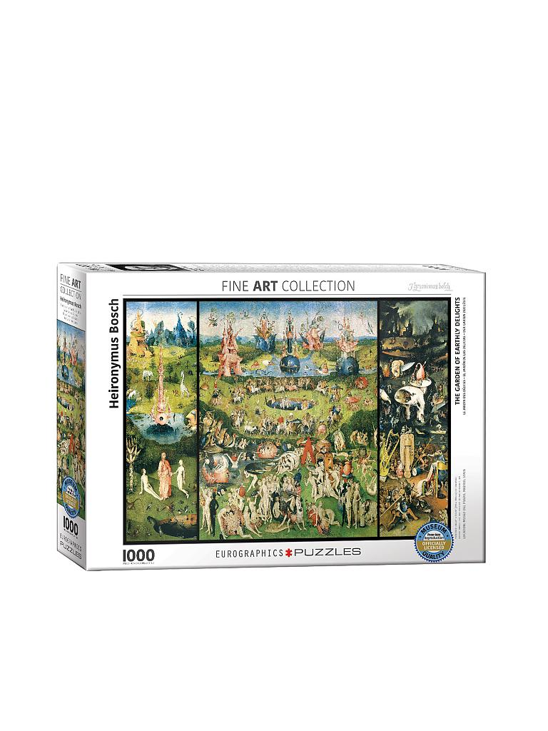 EUROGRAPHICS | Puzzle - The Garden earthly Delights (1000 Teile) | bunt