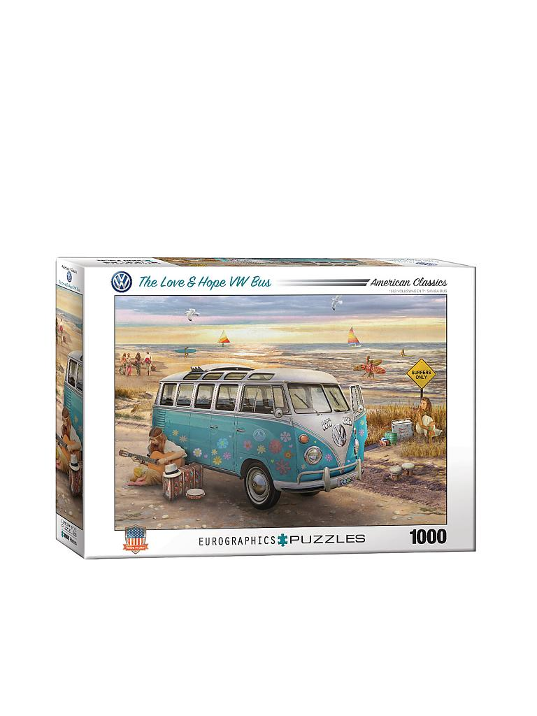 EUROGRAPHICS | Puzzle - The Love & Hope VW Bus (1000 Teile) | bunt