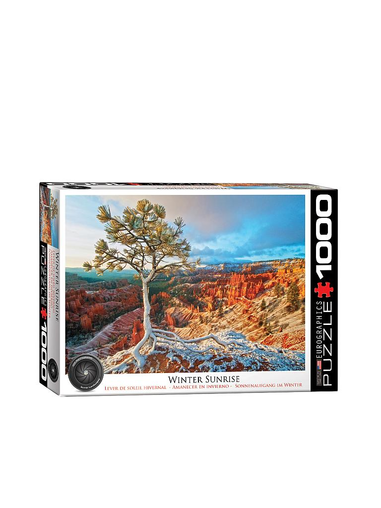 EUROGRAPHICS | Puzzle - Winter Sunrise (1000 Teile) | bunt