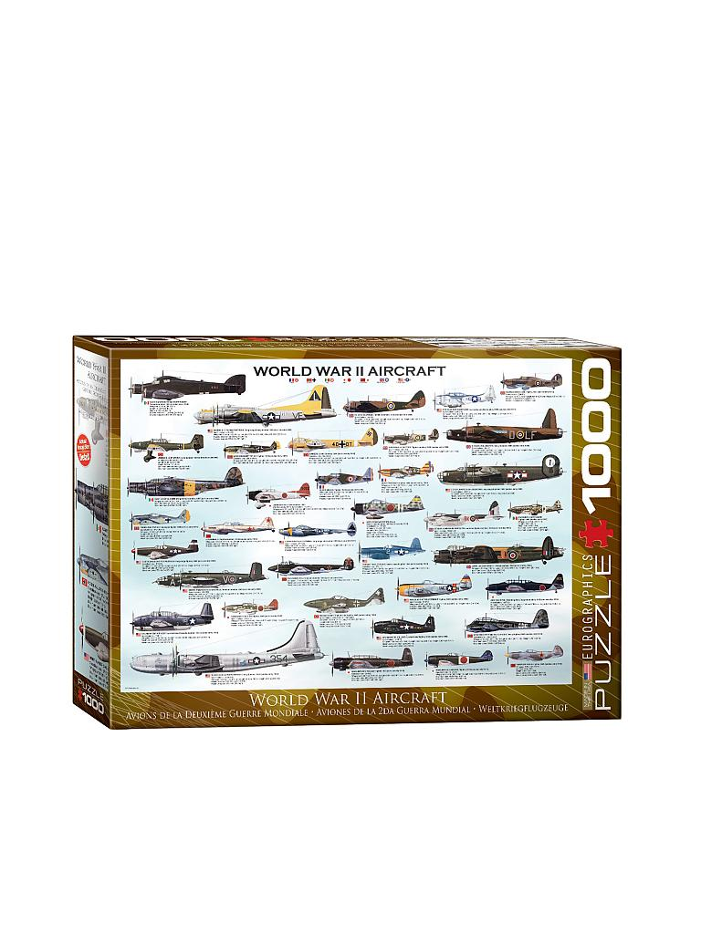 EUROGRAPHICS | Puzzle - World War II Aircraft (1000 Teile) | bunt