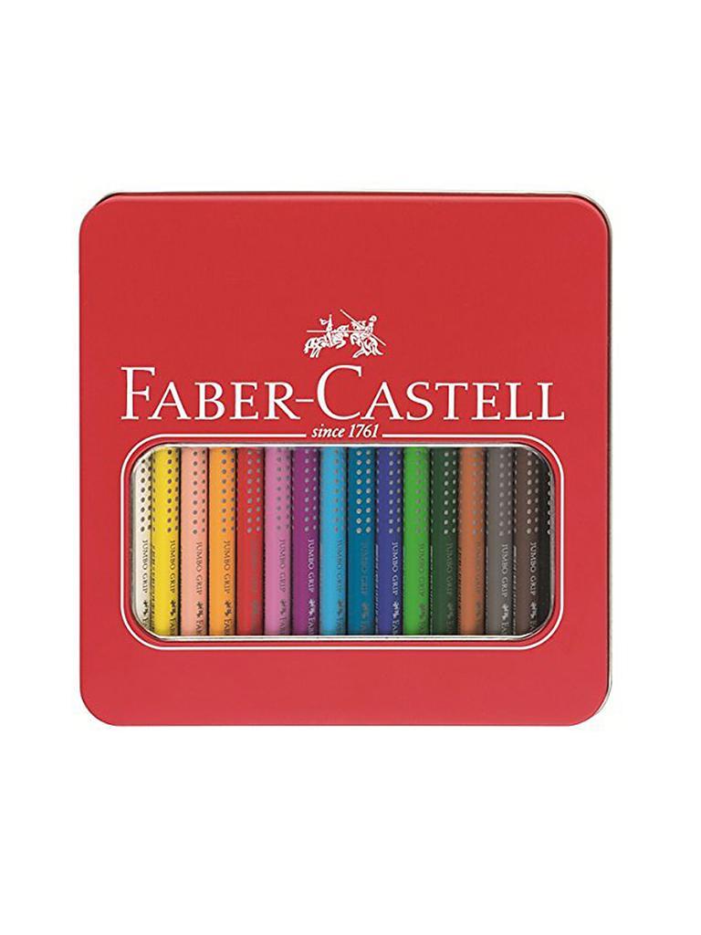 faber castell buntstifte jumbo grip 16er im metalletui. Black Bedroom Furniture Sets. Home Design Ideas