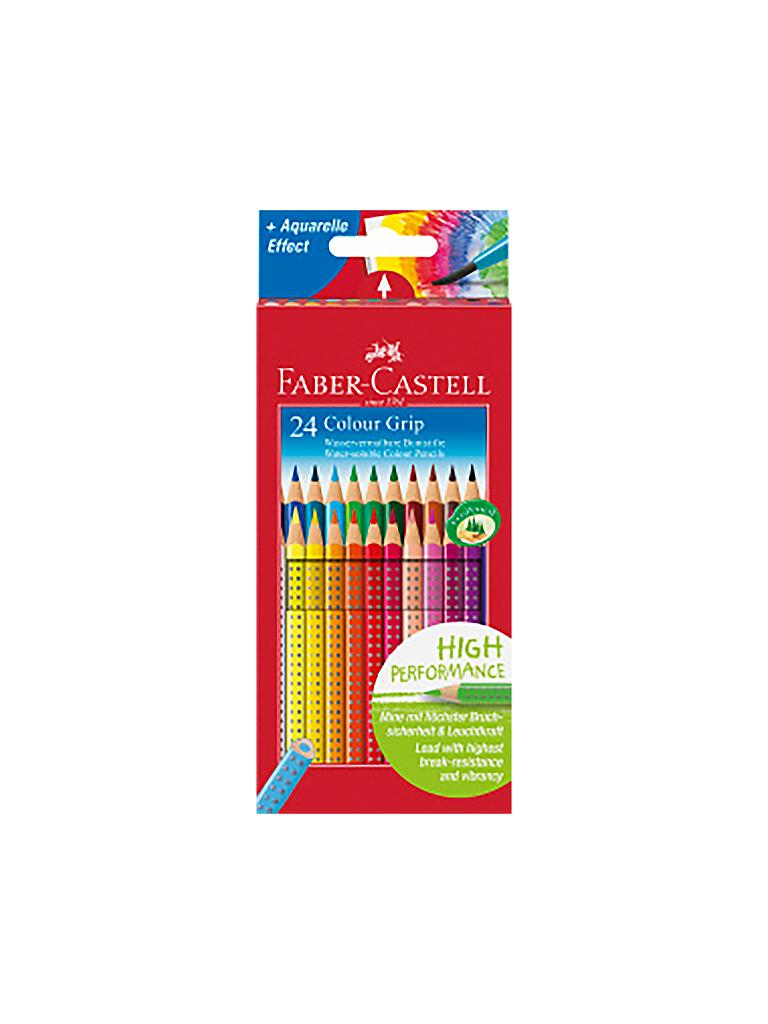 FABER-CASTELL | Colour Grip Buntstift, 24er Kartonetui | bunt