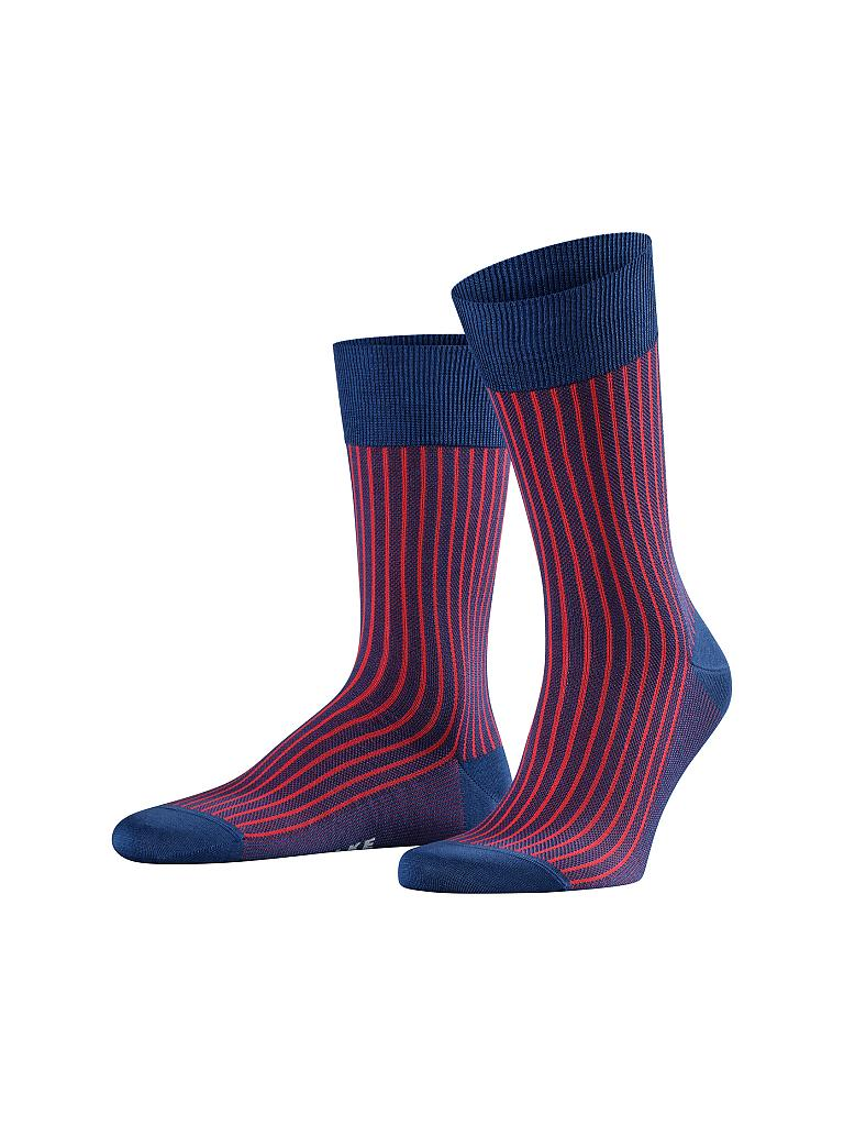 "FALKE | Herren-Socken ""Oxford Stripe"" (Ink) 