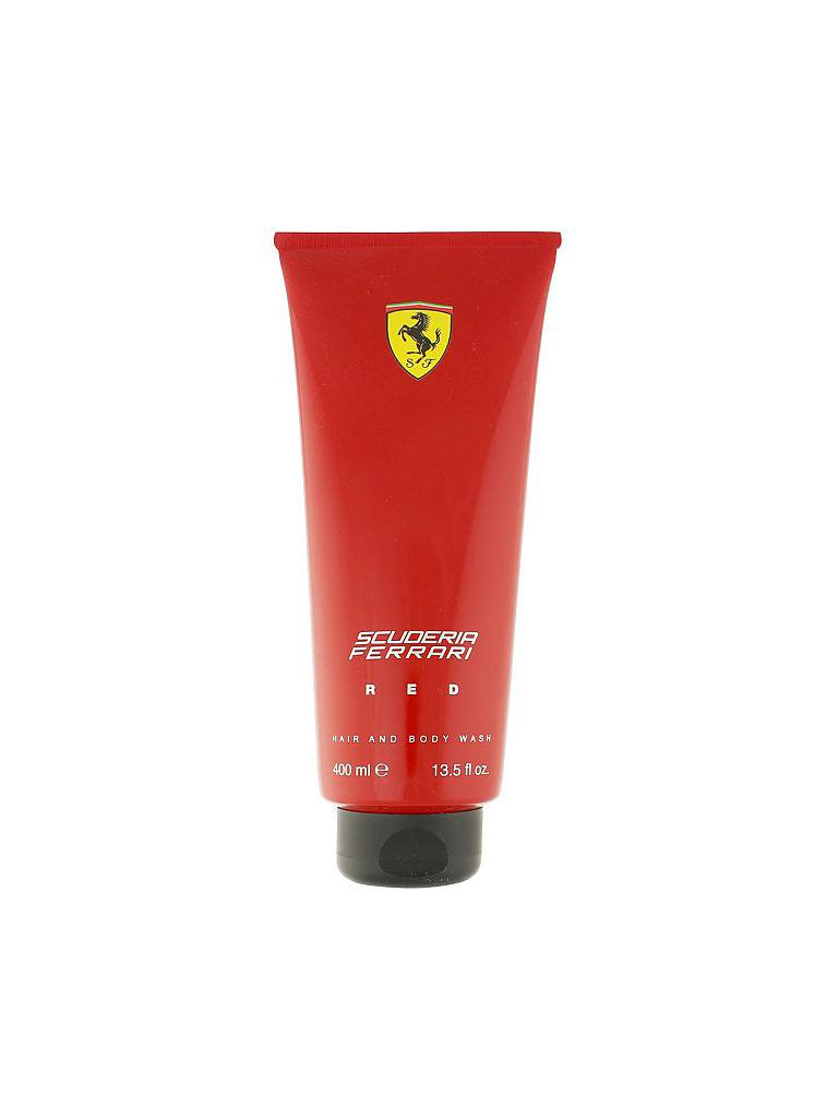 FERRARI | Red Hair and Body Wash 400ml | transparent