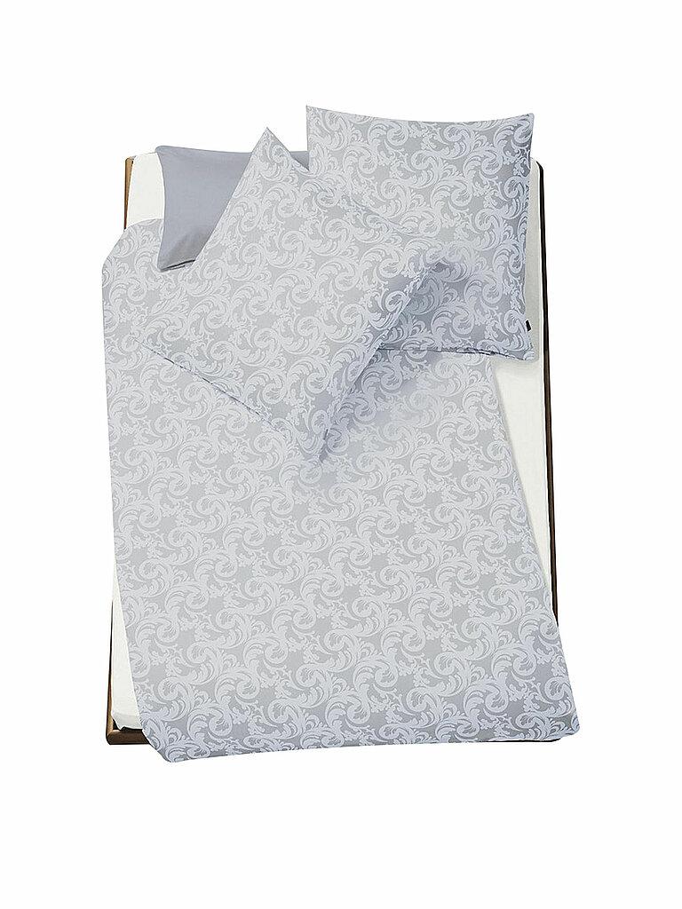 FLEURESSE Damast-Bettwäsche Brilliant Konfektion 70x90 / 140x200cm grau